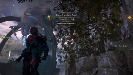 Anthem Storm Time Trial World Record - Razor's Edge Run