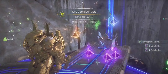 Anthem Fortress Run Time Trial Record Colossus