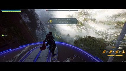 Anthem Emerald Run Time Trial Record Storm
