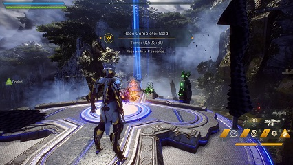 Anthem Watcher's Run Time Trial Record Interceptor