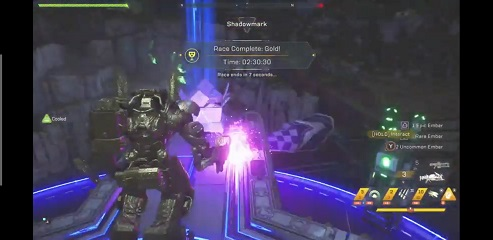 Anthem Dark Water Run Time Trial Record Colossus