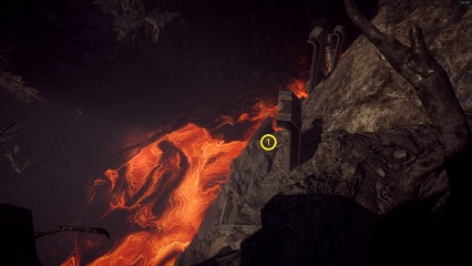 Anthem Heart of Rage Seasonal Lava river secrets