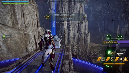 Anthem Fortress Run Time Trial Record Interceptor