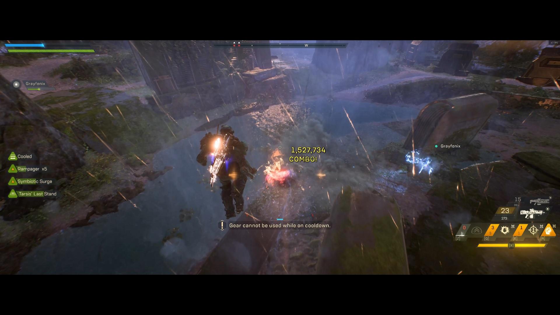 Anthem Ranger Combo Impact Record
