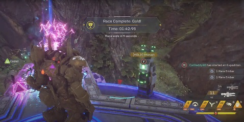 Anthem Razor's Edge Run Time Trial Record Colossus