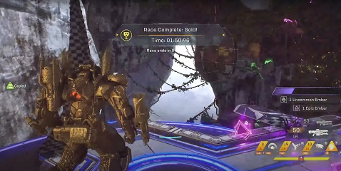 Anthem Rust Bowl Run Time Trial Record Colossus