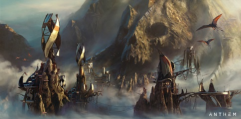 Anthem NEXT Pirates of Blood Wind Skull settlement