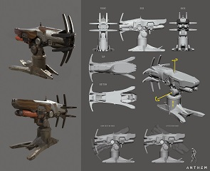 Anthem 2.0 Pirates of Blood Wind Harpoon Turret