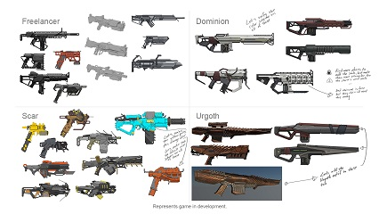 Anthem 2.0 Weapons