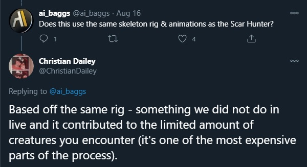 Christian Dailey confirms Pirate model reuses Scar rigging
