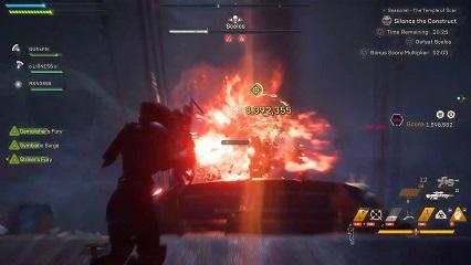Anthem Sniper Rifle Damage Record