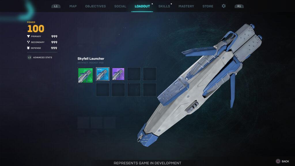Anthem Next 2.0 Blog post Ranger Artifact Skyfall Launcher