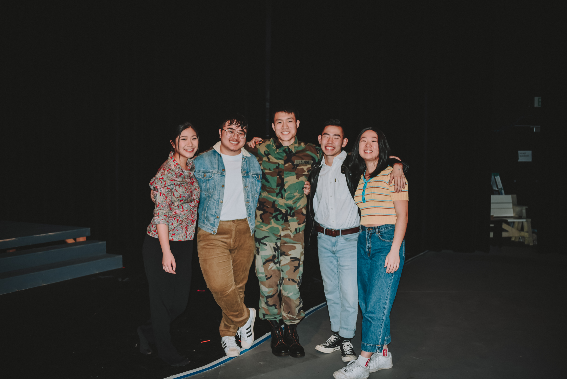 An image of the cast of Vietgone (our 24th season's winter show)