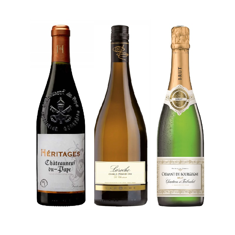 French Wines Selection (available in BC)