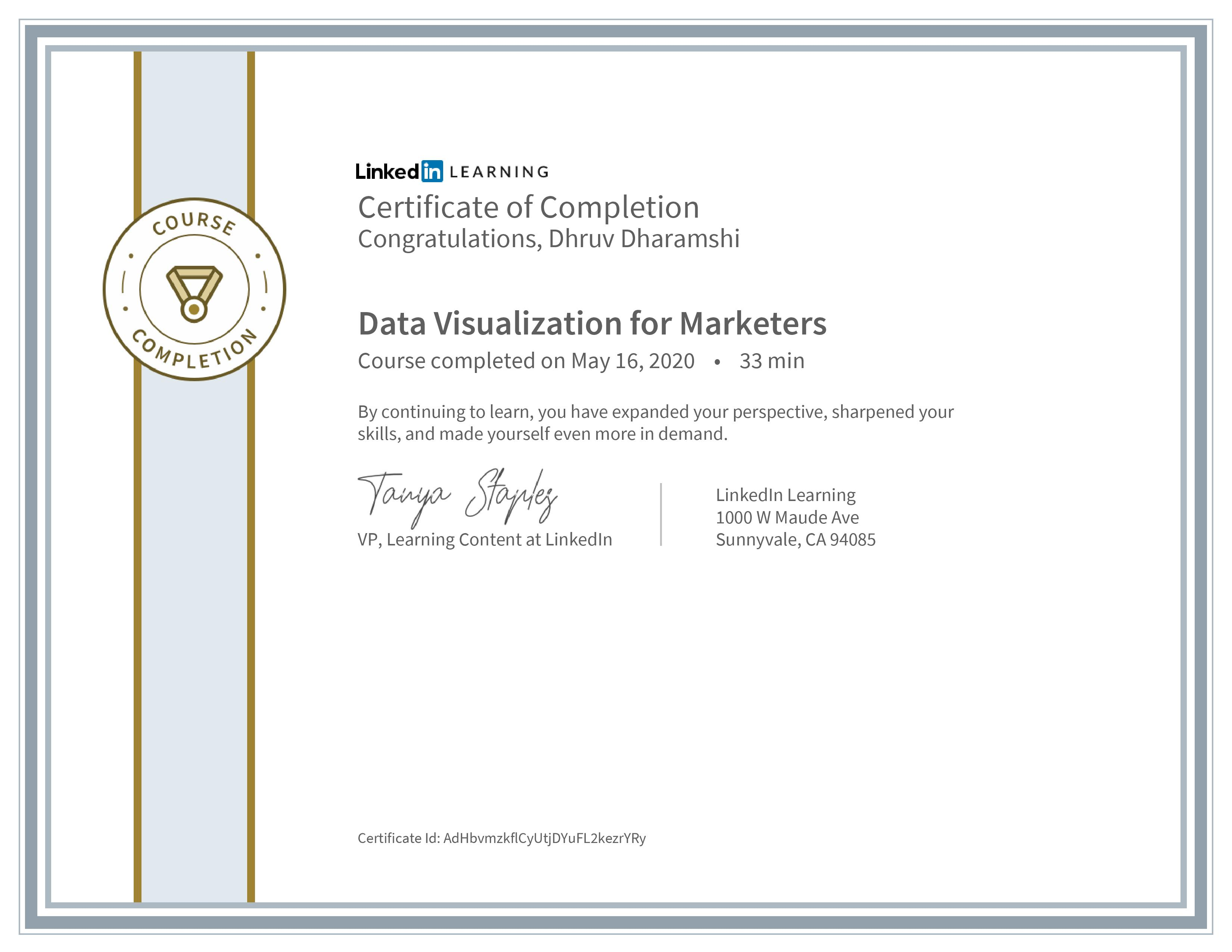 Data Visualization for Marketers