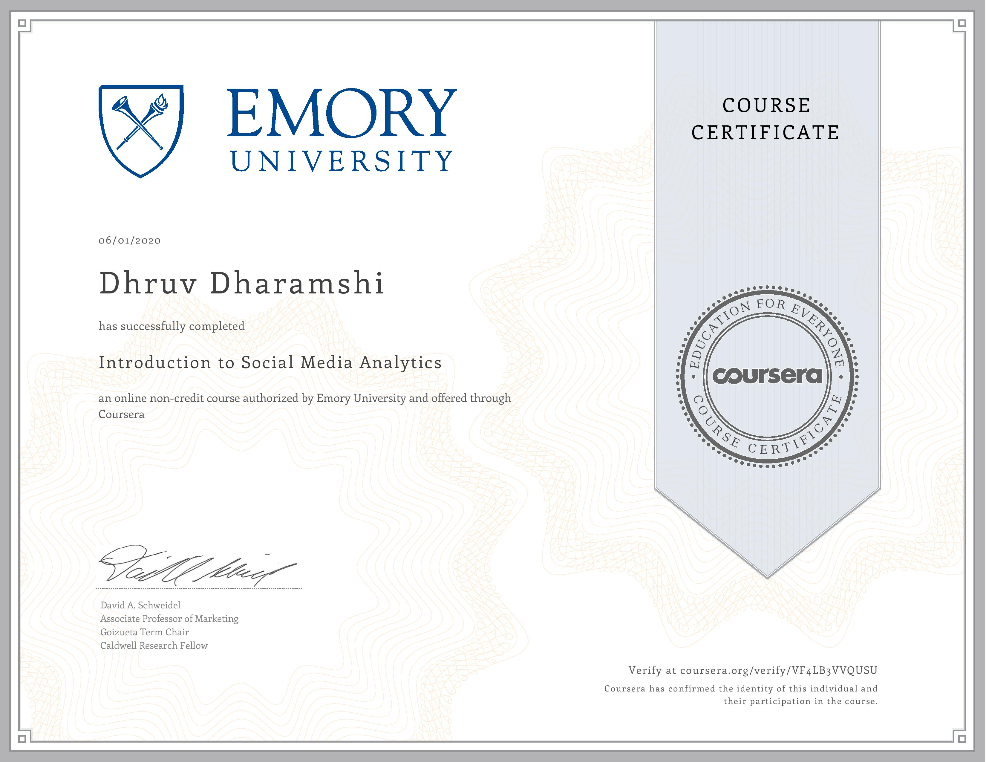 Introduction to Social Media Analytics