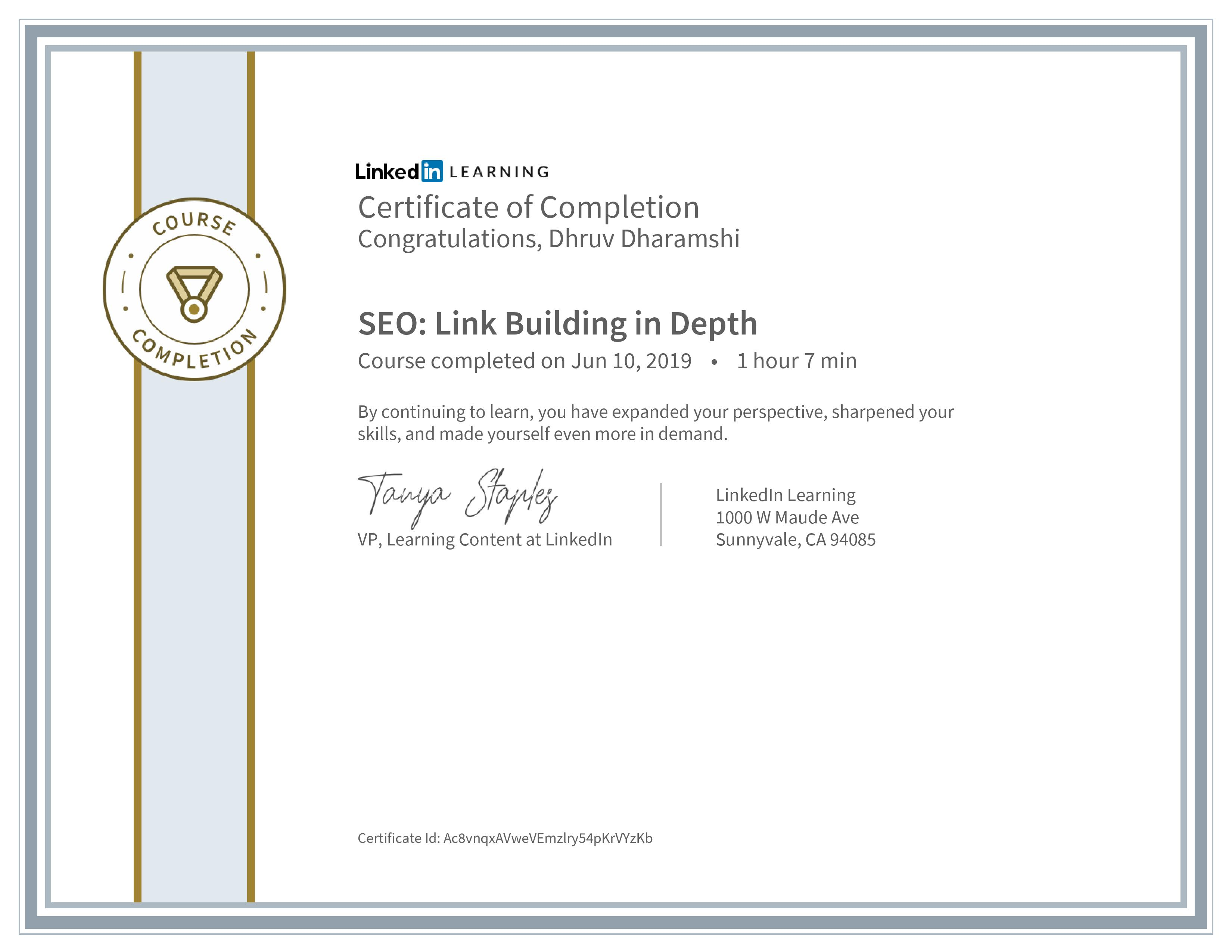 SEO: Link Building in Depth