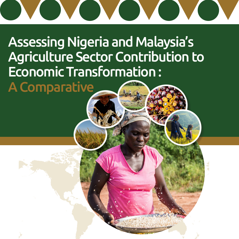 Assessing Nigeria and Malaysia's Agriculture Sector Contribution to Economic Transformation : A Comparative