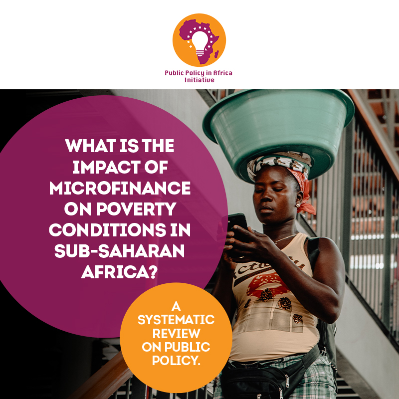 What Is The Impact Of Microfinance On Poverty Conditions In Sub-Saharan Africa?