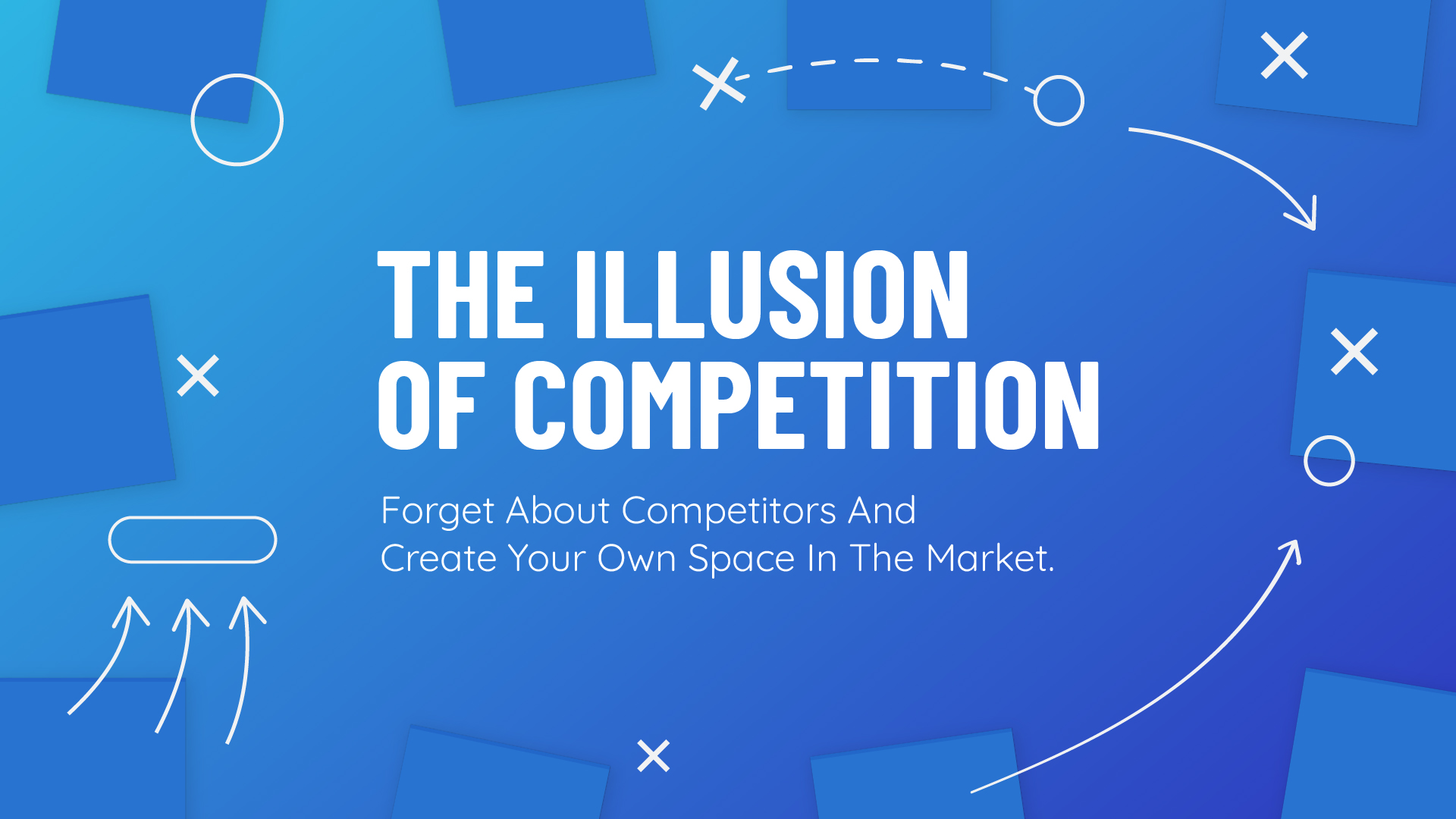 The illusion of competition