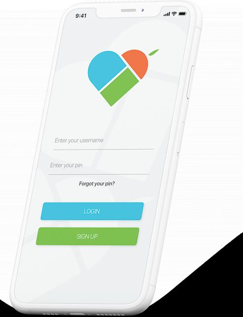 WinutRx App Mobile Log On