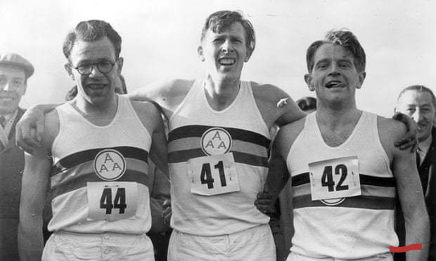 Bannister with Brasher and Chataway