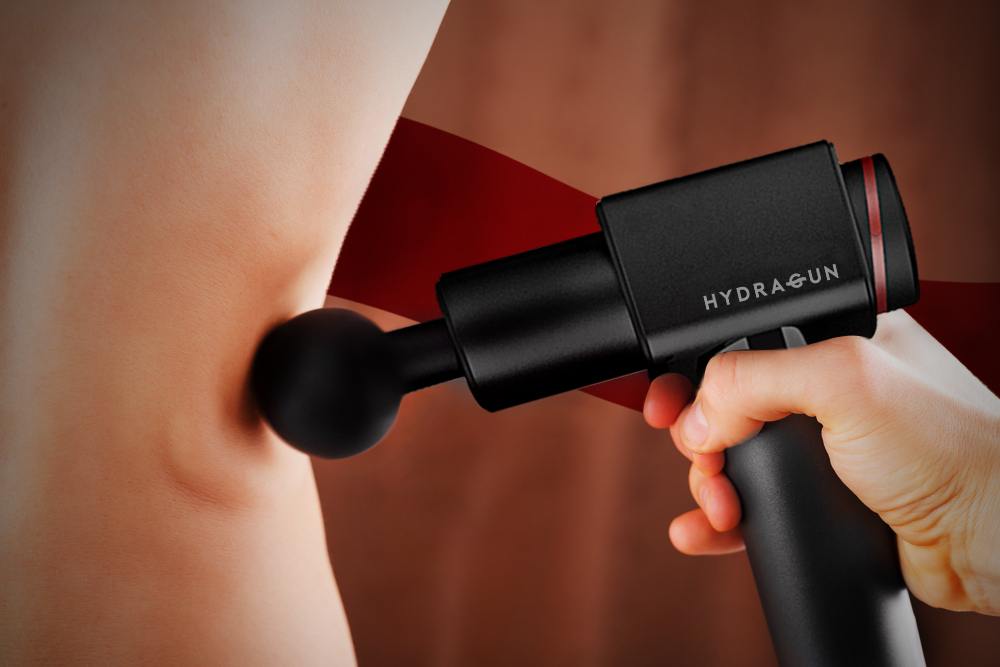 Photo of Hydragun recovery device used on body
