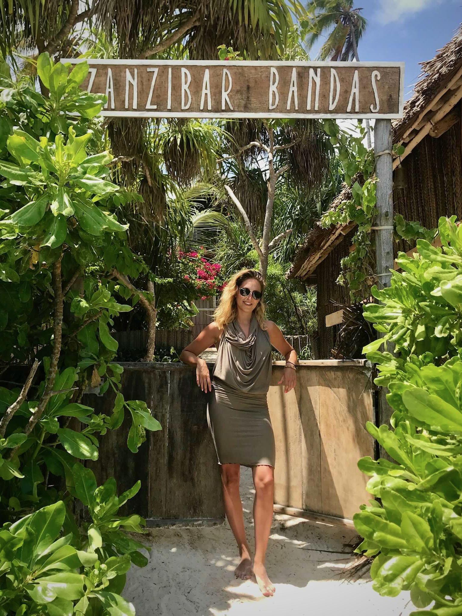 In Zanzibar - Alicja summited Kilimanjaro on her 25th birthday!