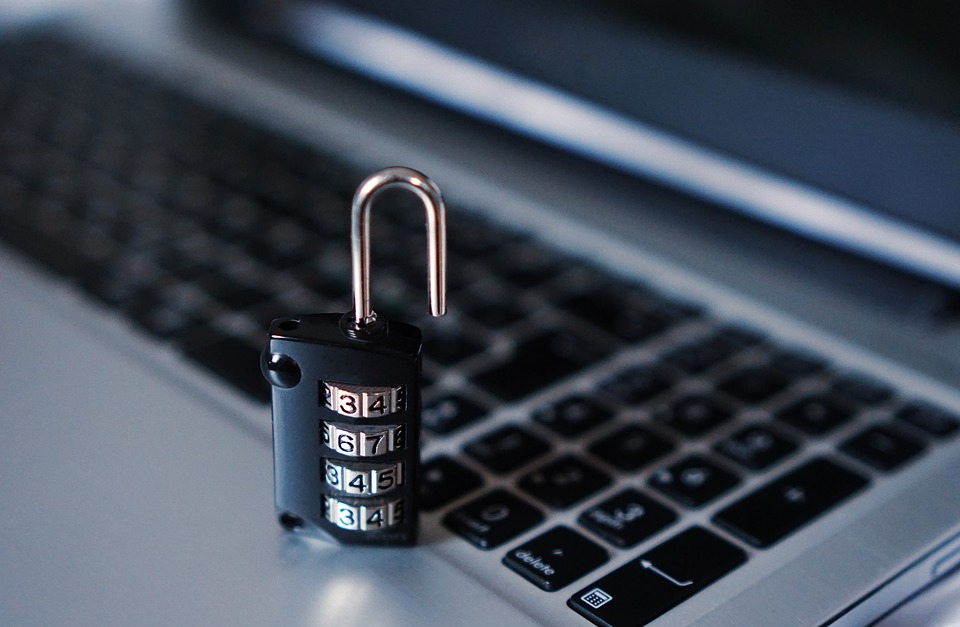 Use a secured credentials for cybersecurity