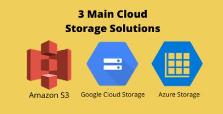 Main Cloud Storage Solutions