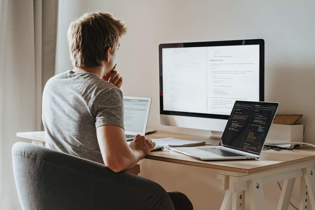 A Codvo web developer is able to control his Remote Working Cybersecurity Risk