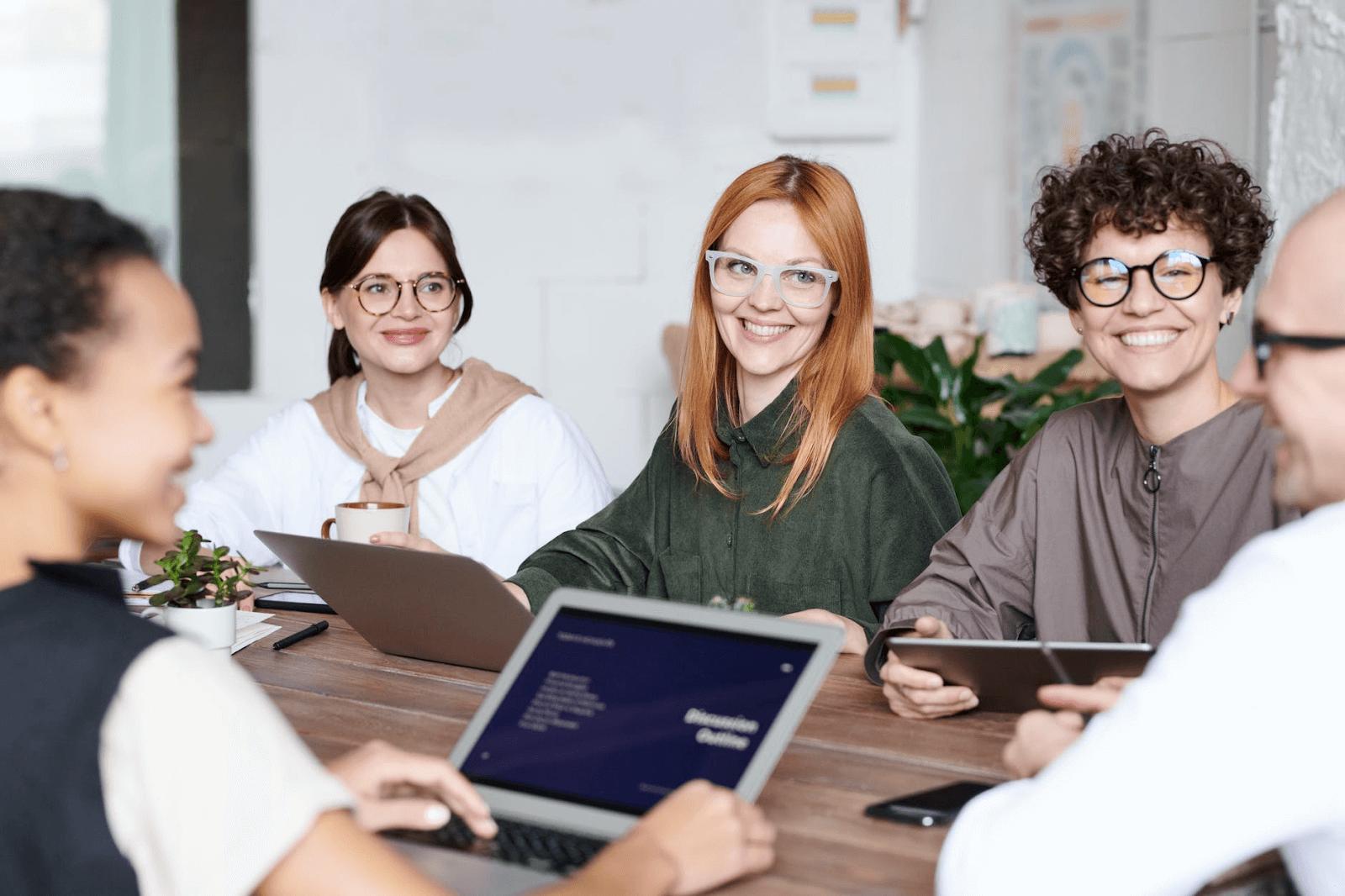 Codvo employees planning cybersecurity awareness training