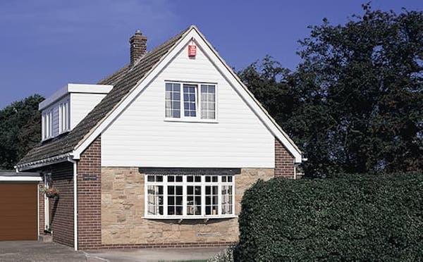 Exterior uPVC Cladding on house