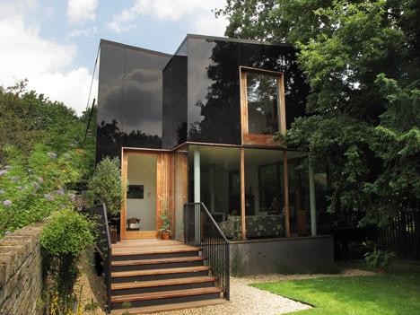 External class cladding on house