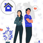 Home sellers more upset about leaving their home than their partner, as breakups drive home moves