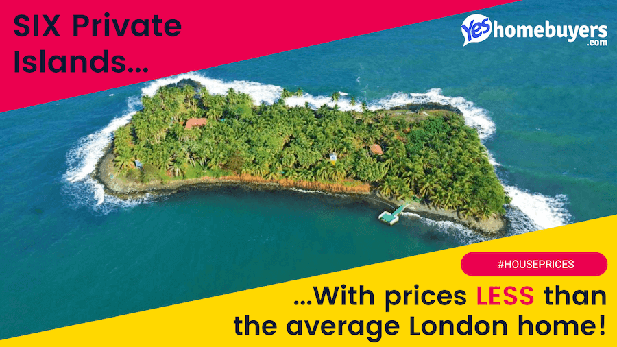 Private Islands for less than the cost of a UK house