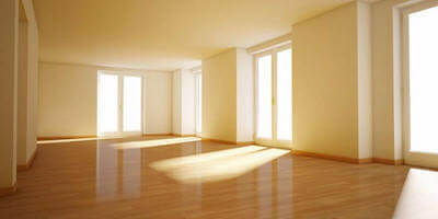 Selling an empty house: Image of an empty property