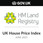 Commentary: Gov.UK House Price Release for June 2021