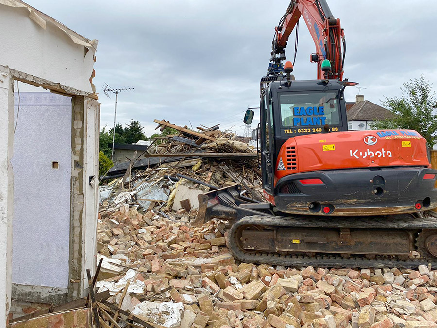 London demolition services - Full House Demo