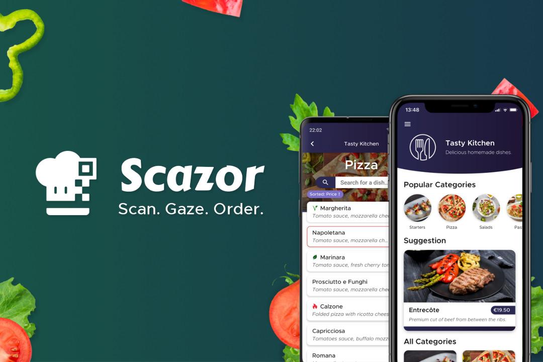 Scazor - le menu numérique