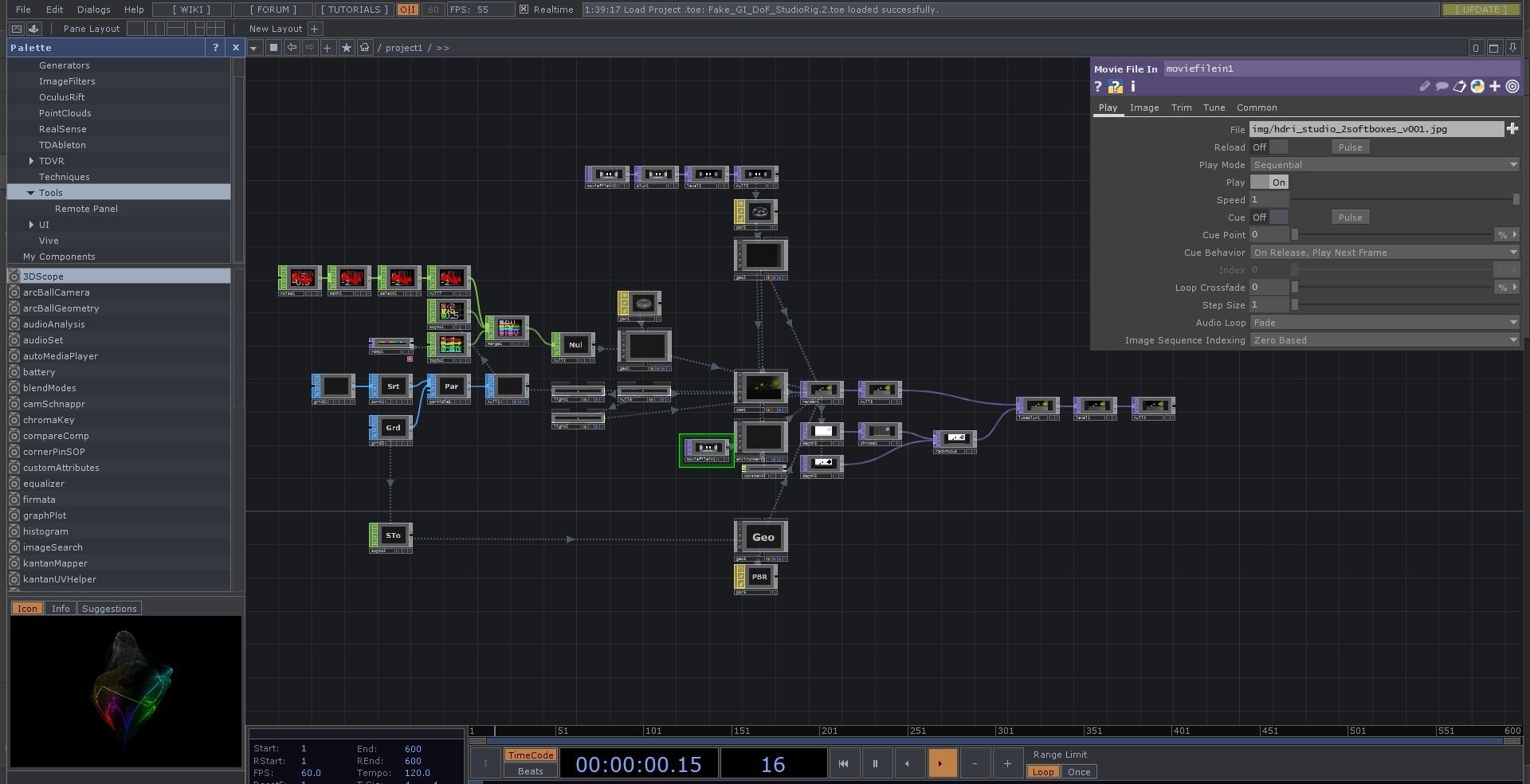 Touchdesigner Freebie 001