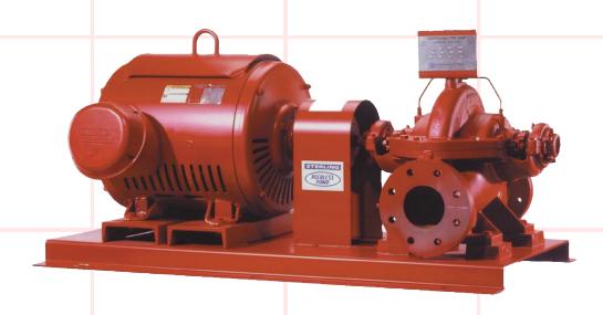 Inline Fire Pump