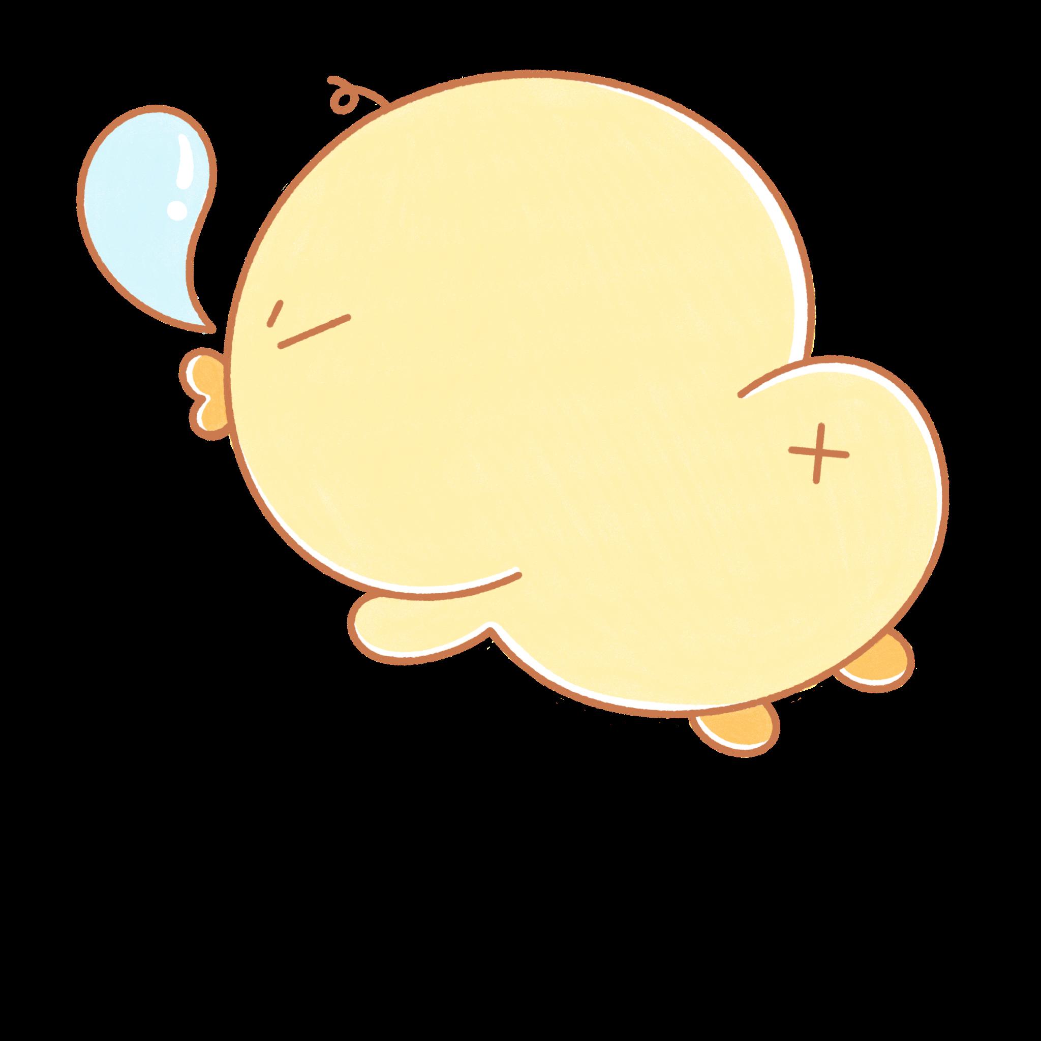 chikkie sleeping