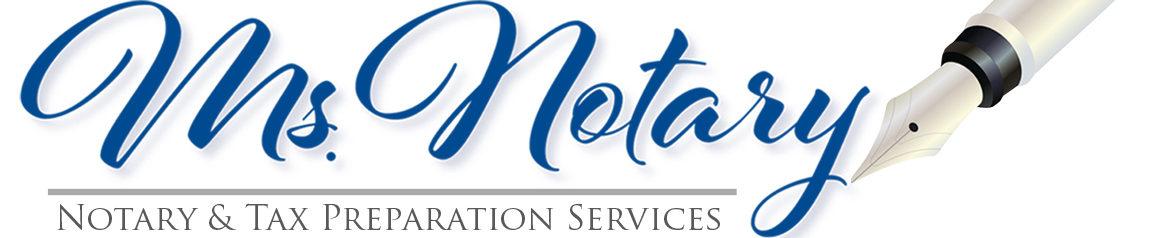 Ms Notary NY logo