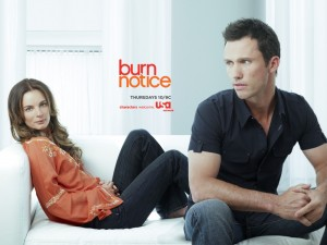 Burn Notice S4 ad