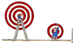 Defining Targets Differently by HikingArtist.com