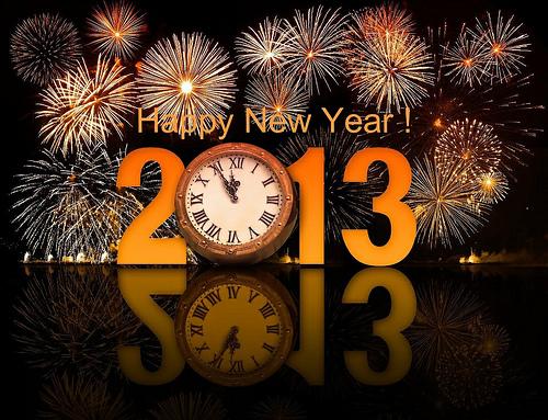 Happy New Year 2013 by Juan Ramon Rodriguez Sosa
