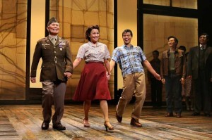 George Takei with the cast of Allegiance