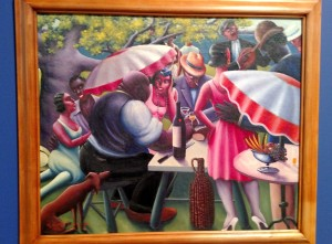 The Picnic by Archibald Motley