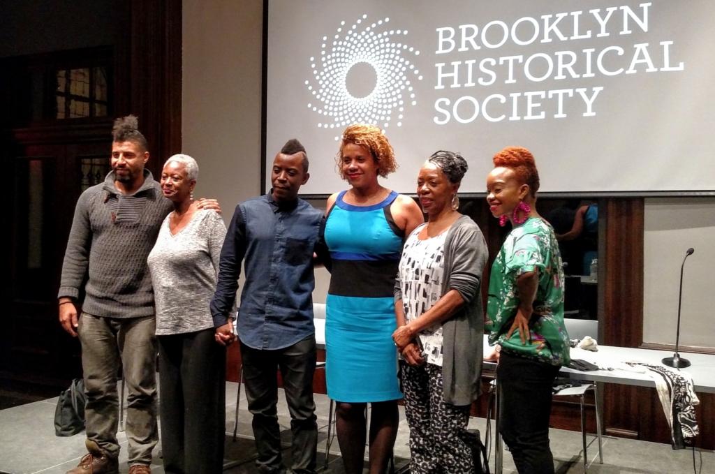 BHS panelists and host Yaa Asantewaa